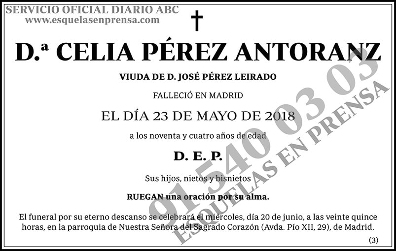 Celia Pérez Antoranz